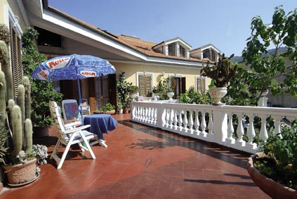 Hotel Piemontese - La terrazza